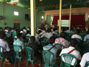 seminar in Bago